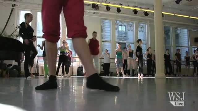 News video: Ballet's Mr. Fix It